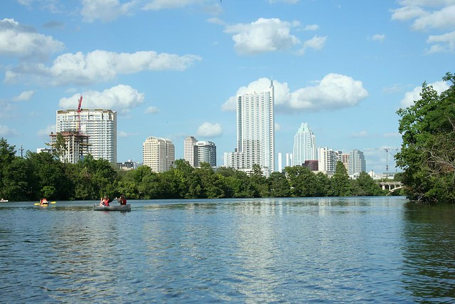 Austin, Texas from Lady Bird Lake