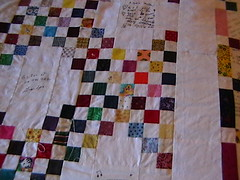This is the back side of the quilt