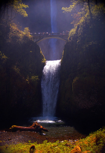 Misty Multnomah Falls