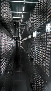 Tape library, CERN, Geneva
