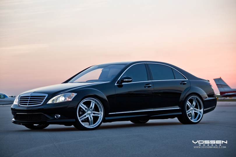 Mercedes Benz S550 On Vossen Vvs078 Wheels Flickr
