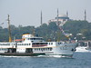 Ferry passing Sultanahmet by henribergius