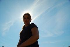 Me over blue skies