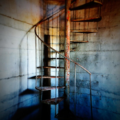Staircase to hell... lomoed!