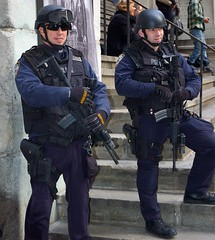 NYPD protecting the bankers