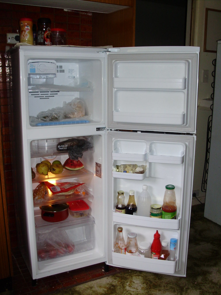 Brand new LG fridge inside