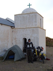 Camping at the chapel - Capilla Vieja