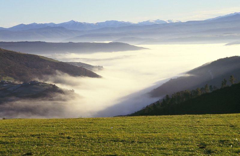 Mar de nubes camiño de Ancares, Lugo