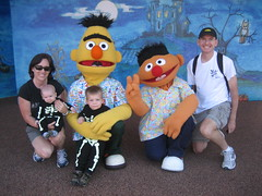 Bert and Ernie at the Bay Of Play