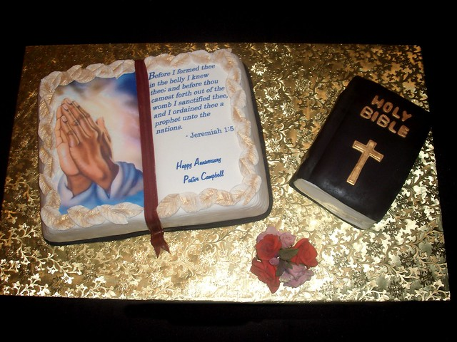 Pastor Appreciation Cake http://www.flickr.com/photos/alamodeconfections/3059319963/
