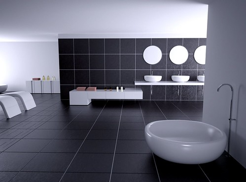 A nice bathroom render indigo renderer for Pics of nice bathrooms