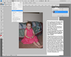 Tutorial - How to get Selective Color using the Color Range Tool