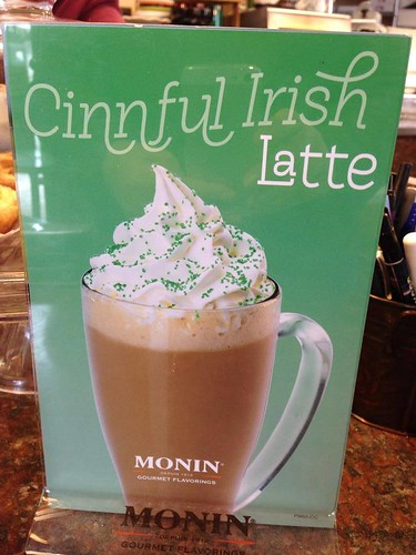 Irish latte