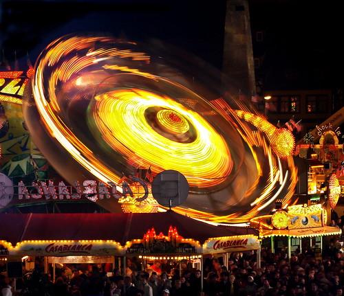 party speed germany deutschland thüringen spring erfurt thuringia full domplatz roundabaut batram
