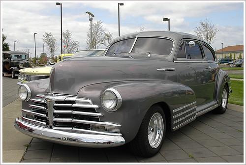 Cars cars cars 1947 chevrolet fleetline 2 door for 1947 chevy fleetline 4 door
