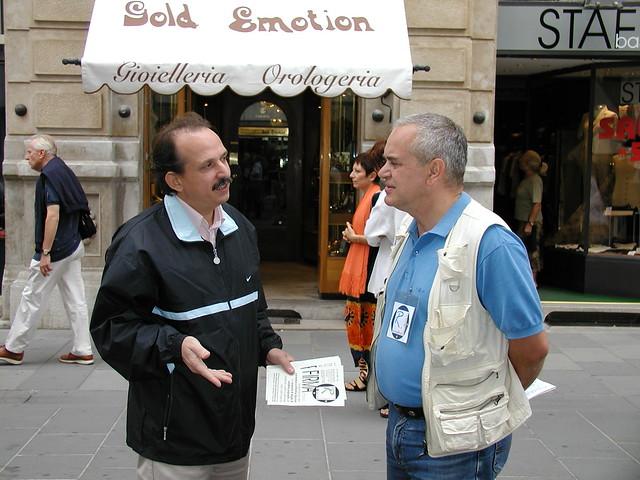 Con Walter Mendizza