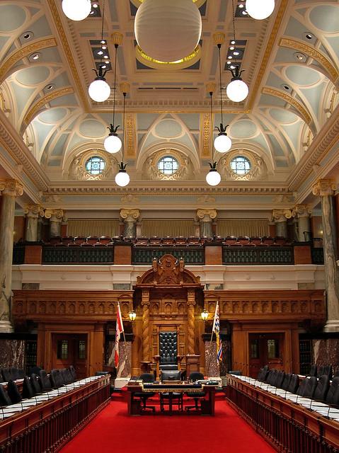 Seat of British Columbia