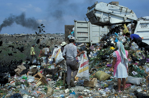 Landfill in Mexico