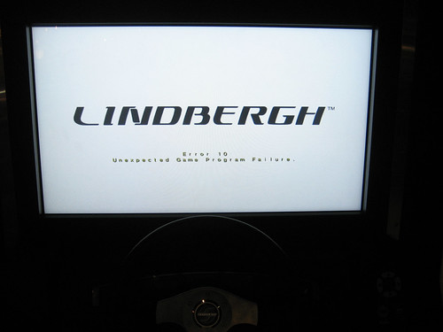 Noooo! Sega Lindbergh, Don't Do This to Me!