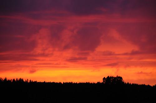 sunset finland iltarusko kasatochivolcanicash