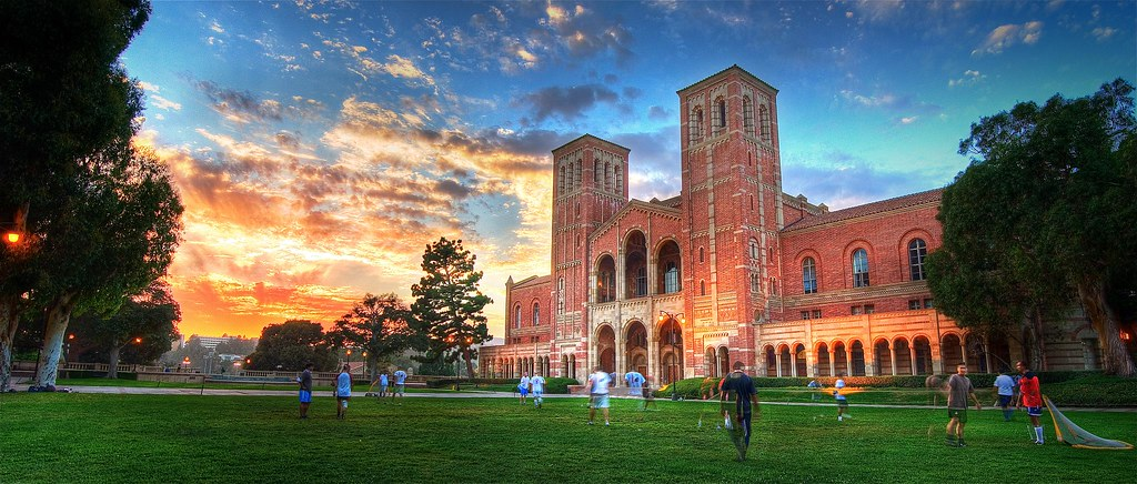 Royce Hall at Sunset