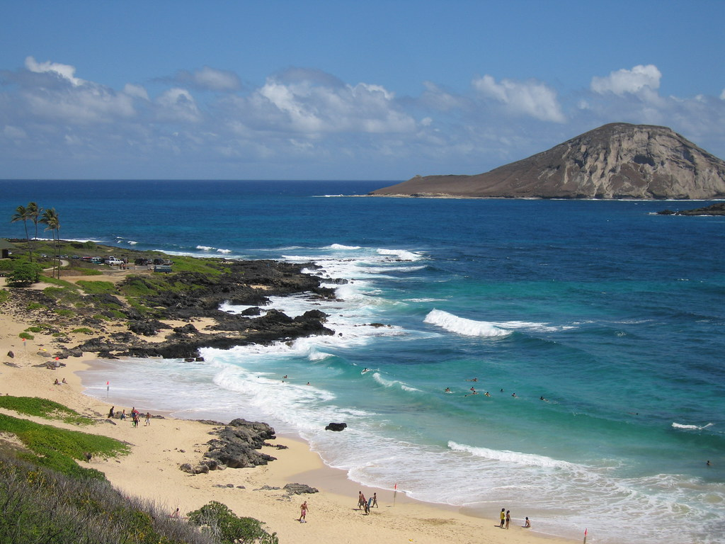 beaches at north eastern oahu shore makapu 39 u beach park