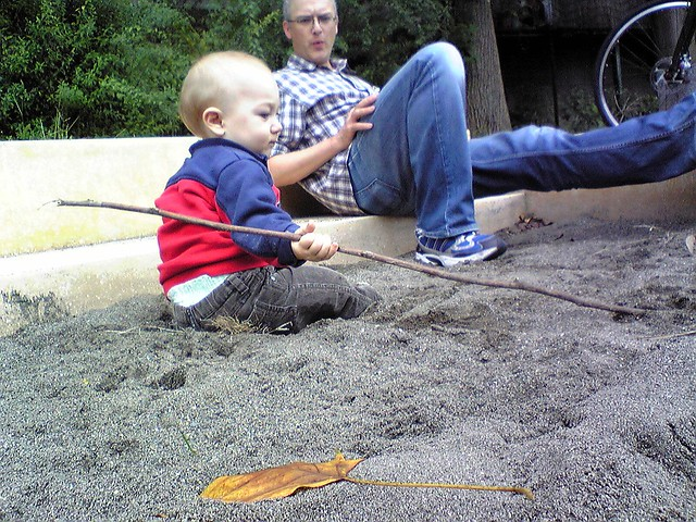 Sandbox stick