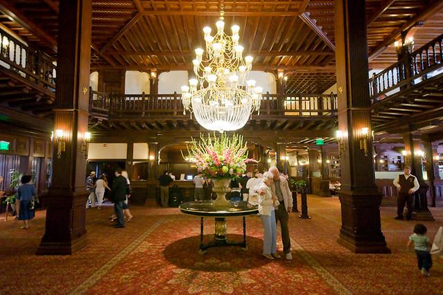 Crown Room Hotel Del History