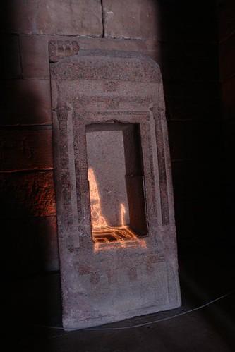Interior del templo de Debod Templo de Debod de Madrid, vínculo eterno con Egipto - 2981939522 db0d4b52f7 - Templo de Debod de Madrid, vínculo eterno con Egipto