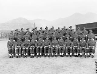 Members of the 3rd Battalion, The Royal Australian Regiment (3RAR), at Anzac Park, Kure