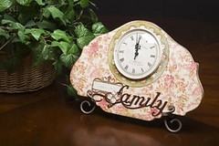 Cricut Home Decor Clock