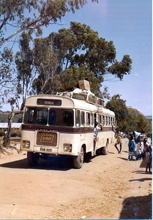 The EAR bus to Iringa