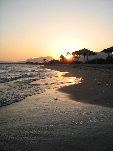 sunset sea beach landscape geotagged greece aitoloakarnania geo:lat=38305429 top20beaches geo:lon=21204557