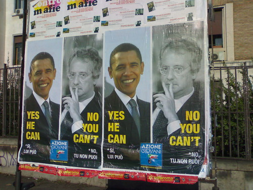 YES HE CAN - NO YOU CAN'T