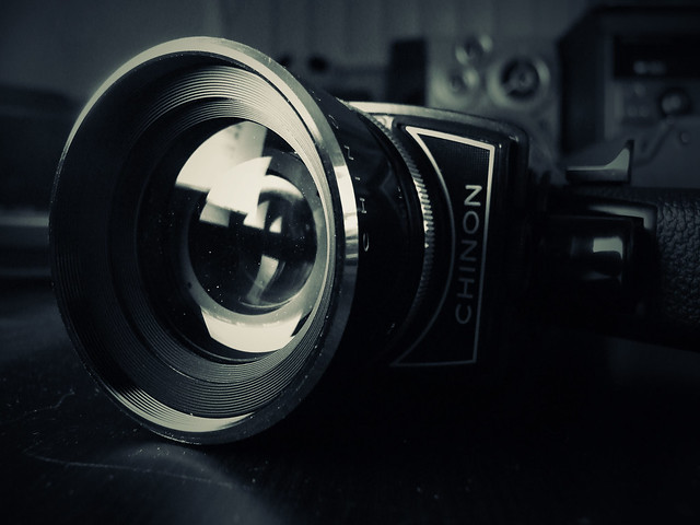 Photo:Chinon 8mm Movie Camera By:SPDP