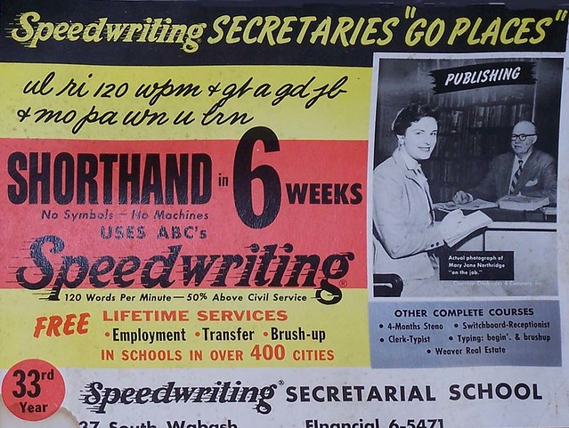 SHORTHAND – CAN YOU WRITE AS FAST AS YOU SPEAK? | ETEC540