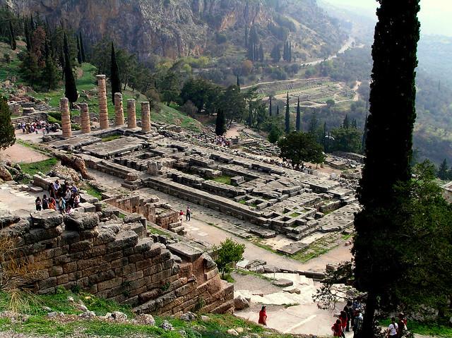 Greece - Ancient Delphi 2008  Flickr - Photo Sharing!