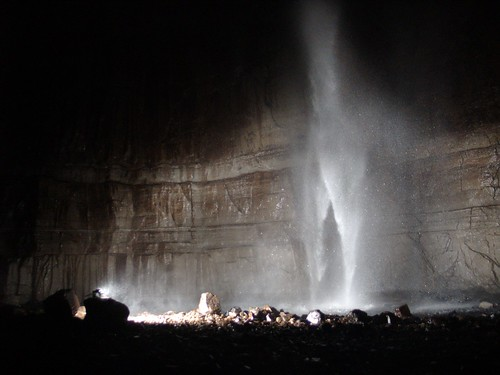 gaping gill main chamber waterfall2