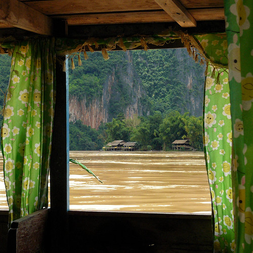 Windows of Laos