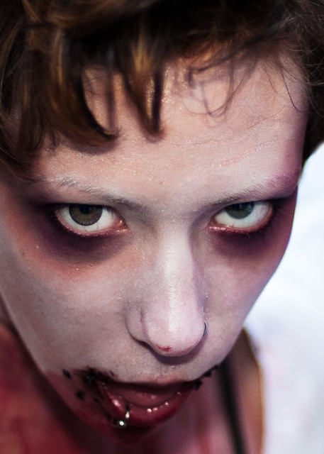 Zombie portrait #4