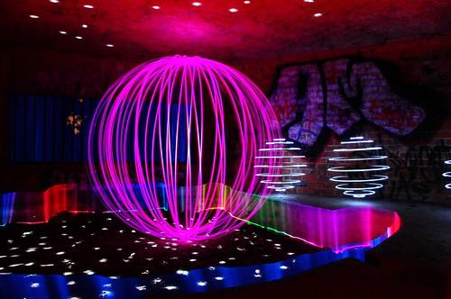 Light Painter Mobile Disco - bookings being taken.