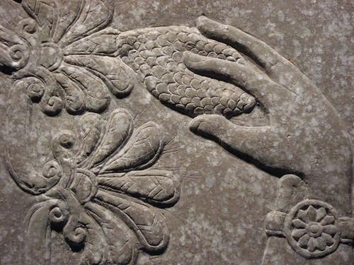 Ancient Assyrian pollinator