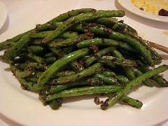 choy sum(0.0), produce(0.0), rapini(0.0), asparagus(0.0), vegetable(1.0), vegetarian food(1.0), green bean(1.0), food(1.0), dish(1.0), common bean(1.0), cuisine(1.0),