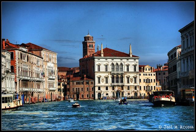 Venecia (Italia). Palazzo Balbi.