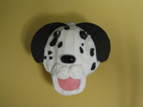 Dalmation Cupcake by discocupcakes