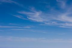 Blue Sky over SFO