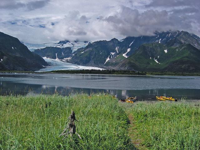 Bahía de Aialik. Parque Nacional de los Fiordos de Kenai. Alaska.
