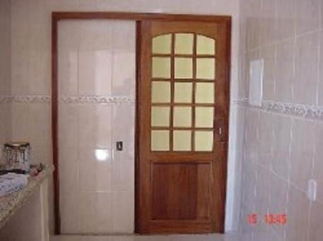 Portas de madeira para cozinha