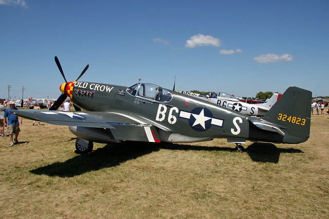 P 51b Mustang Quot Old Crow Quot Flickr Photo Sharing