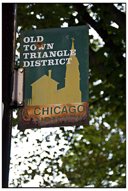 Old Town Triangle District